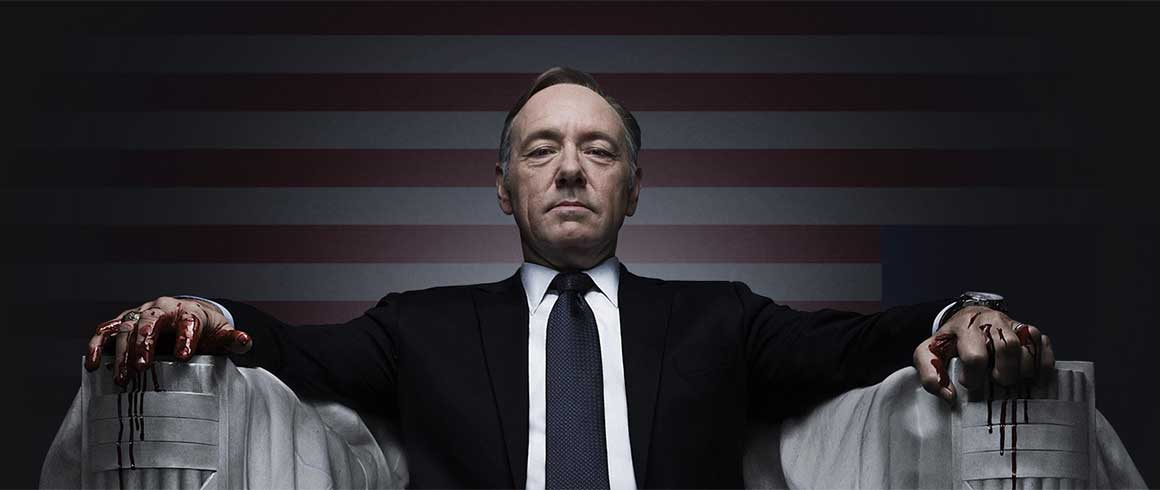 Da House of Cards alla Casa Bianca